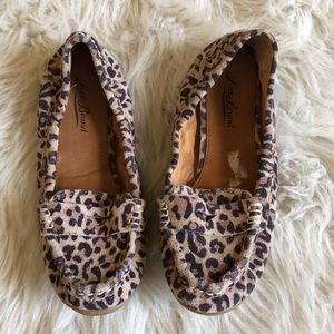 Lucky Cheetah Print Loafers